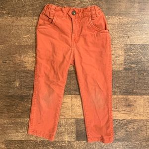 GENUINE KIDS OSHKOSH burnt orange skinny jean pant